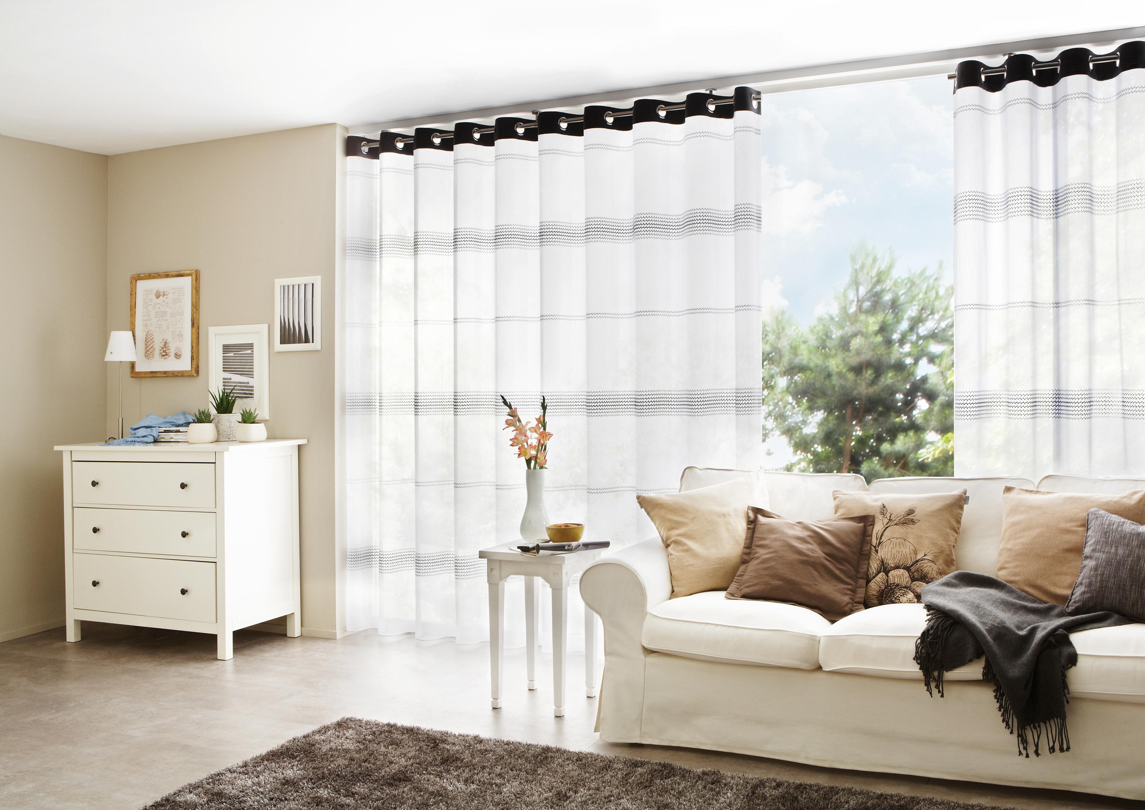 gardinen f r grosse terrassenfenster hcvc. Black Bedroom Furniture Sets. Home Design Ideas