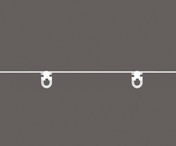 Kordel mit Drehgleiter - 8cm Abstand