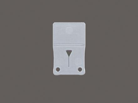 Kunststoff-Clip für Raffrollos