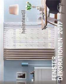 Heimtextil - Fenster Dekorationen 2017